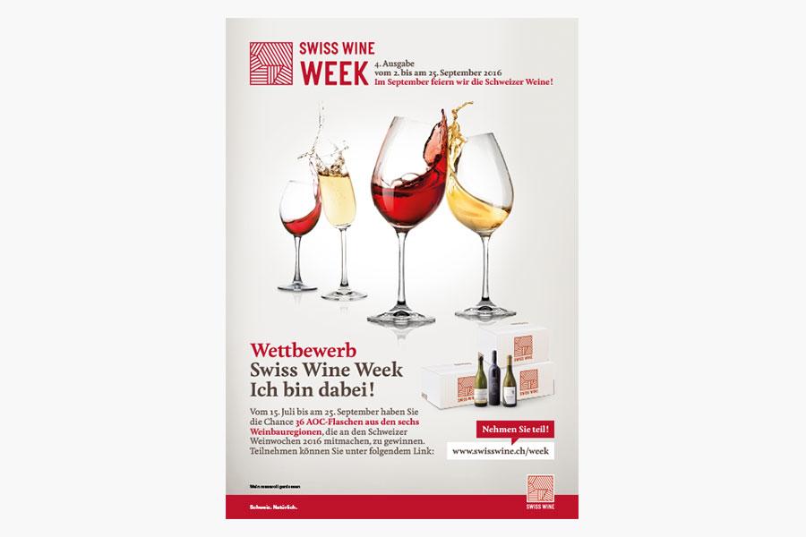 annonce Swiss Wine Week