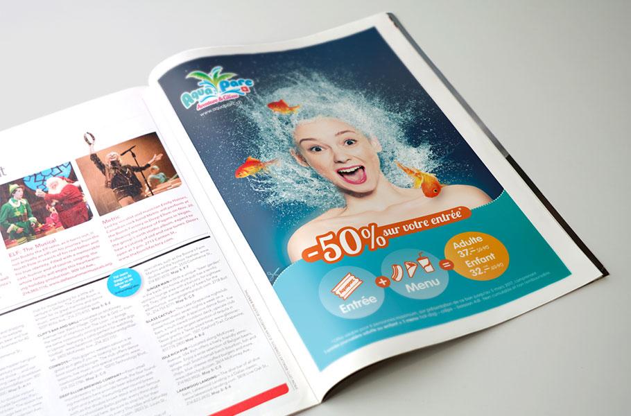 Annonce Aquaparc Aventure & Glisse