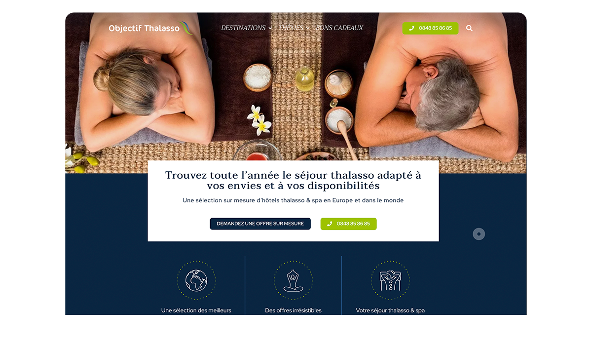 Objectif-Thalasso toutes les destinations spa wellness